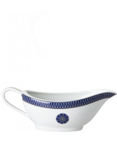 Royal Limoges Blue Star Gravy Boat