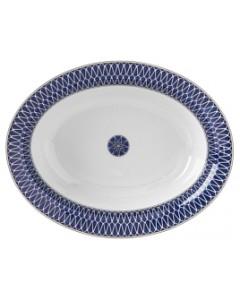 Royal Limoges Blue Star Open Vegetable Bowl