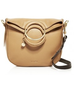 See by Chloe Monroe Ring Handle Convertible Leather Shoulder Bag