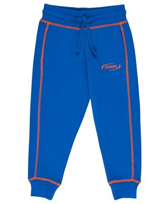 Bonds Kids Cool Sweats Trackie in Blue Tang