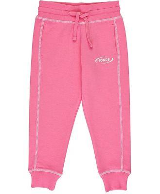Bonds Kids Cool Sweats Trackie in Pink Kiss Size: