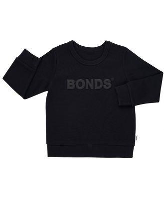 Bonds Kids Tech Sweats Pullover in Nu Black