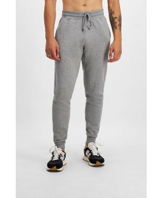 Bonds Originals Fleece Skinny Trackie in Earl Grey Marle Size: