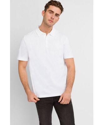 Bonds Polo Shirt Nu White XS
