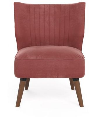 Cece Accent Chair Dusty Rose