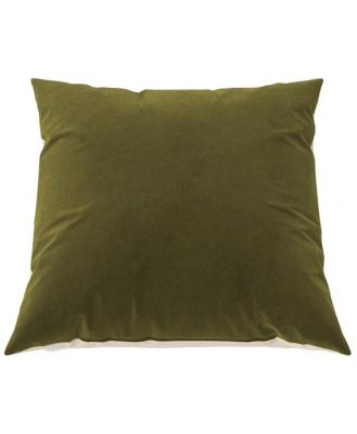 Elementary Cushion Olive Green with French Beige 60 x 60 cm 60 x 60 cm