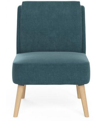 Eve Accent Chair Azure Teal