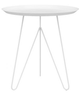 Kare End Table White