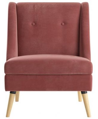 Liza Accent Chair Dusty Rose