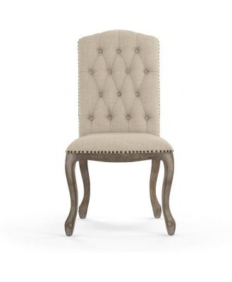 Marie Dining Chair French Beige