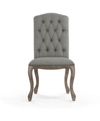 Marie Dining Chair Stone Grey