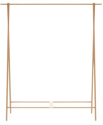 Peggy Clothes Rack Warm Natural Solid Ash Wood