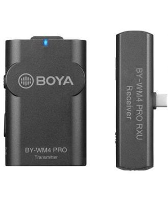 Boya BY-WM4 Pro-K5, 2.4GHz Wireless Microphone Kit for Android Devices