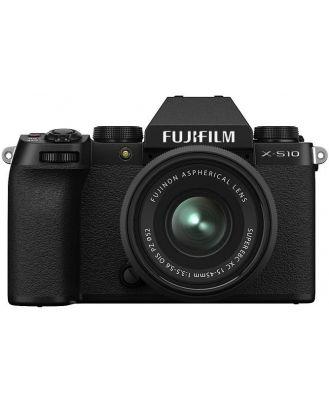 Fujifilm X-S10 Body - Black w/ XC15-45mm Lens