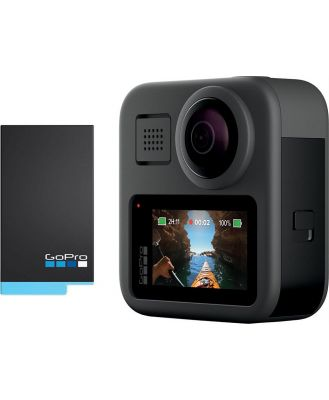 GoPro MAX 360 with ACBAT-001 Rechargeable Battery