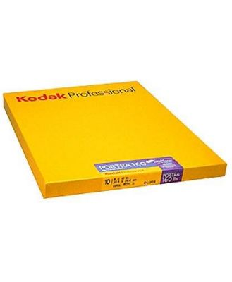Kodak Portra 160 ISO Professio al 8 x 10 (10 Sheets) Colour Negative Sheet Film