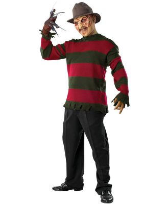 A Nightmare on Elm Street Freddy Krueger Deluxe Sweater Adult Costume