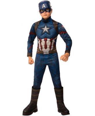 Avengers Endgame Captain America Deluxe Child Costume