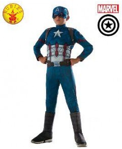 Avengers Infinity War Captain America Deluxe Child Costume