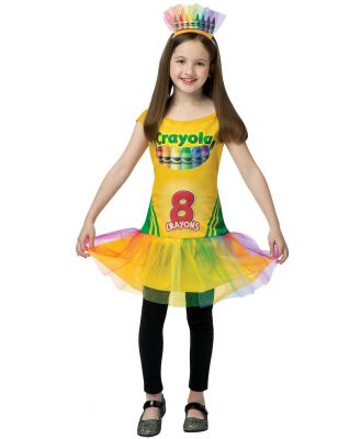 Crayola Box Dress Child Costume