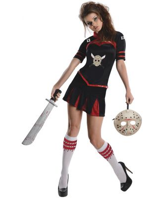 Friday the 13th Jason Cheerleader Secret Wishes Adult Costume