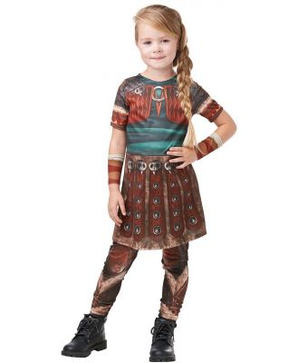 How to Train Your Dragon 3 Astrid Child Costume