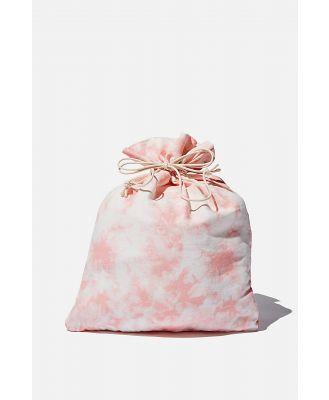 Cotton On Foundation - Foundation Medium Gift Bag - Pink tie dye