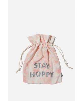 Cotton On Foundation - Personalised Foundation Easter Gift Bag - Pink tie dye