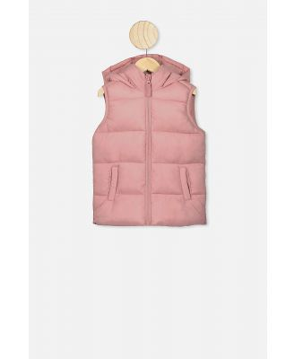 Cotton On Kids - Billie Puffer Vest - Zephyr
