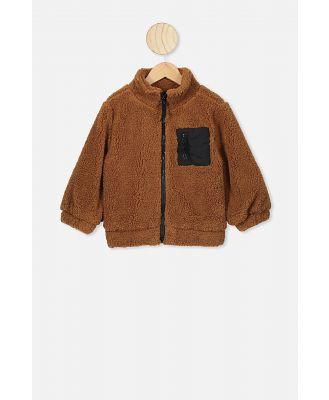 Cotton On Kids - Blaze Bomber - Burnt brown