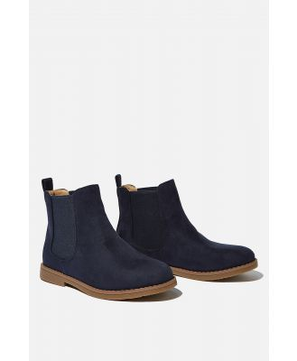 Cotton On Kids - Chelsea Gusset Boots - Vintage navy