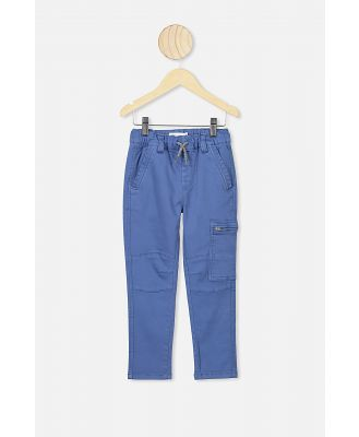 Cotton On Kids - Commander Cargo Pant - Petty blue