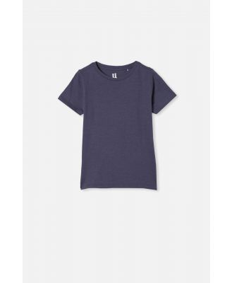 Cotton On Kids - Core Short Sleeve Tee - Vintage navy