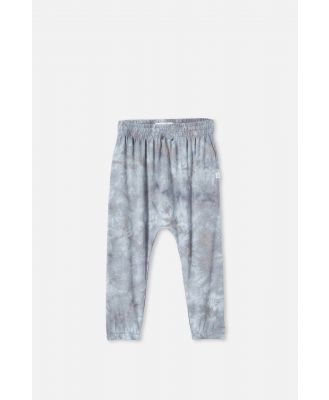 Cotton On Kids - Lennie Tie Dye Pant - Rabbit grey/tie dye