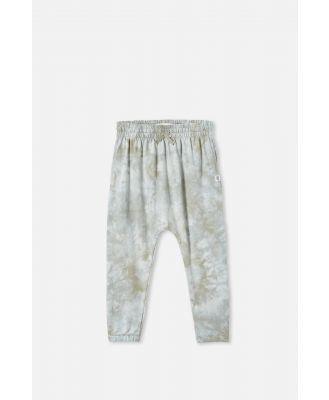Cotton On Kids - Lennie Tie Dye Pant - Silver sage/tie dye
