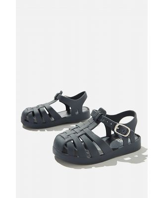 Cotton On Kids - Mini Amalfi Jelly Sandal - Vintage navy