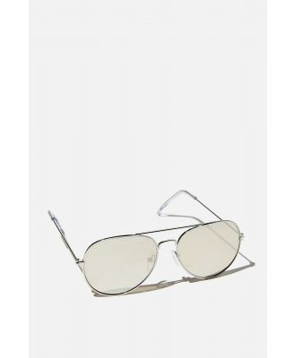 Cotton On Kids - Pilot Sunglasses - Pilot silver