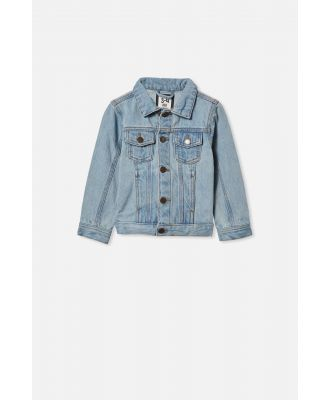 Cotton On Kids - Quinn Denim Jacket - Vintage blue wash