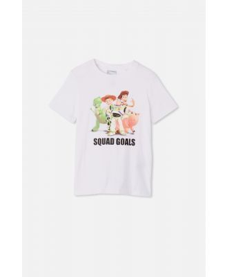 Cotton On Kids - Toy Story Co-Lab Short Sleeve Tee - Lcn dis toy story squad