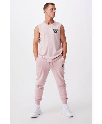 Cotton On Men - Active Nfl Muscle - Lcn nfl dirty pink/raiders-shield