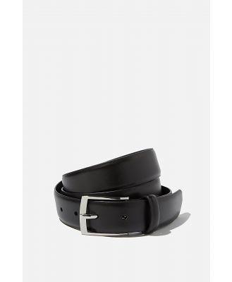 Cotton On Men - Dress Belt - Black/silver