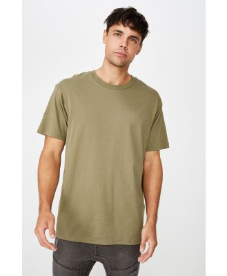 Cotton On Men - Essential Skate T-Shirt - Jungle khaki