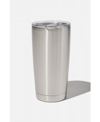 Cotton On Men - Large Stainless Steel Tumbler - Stainless steel