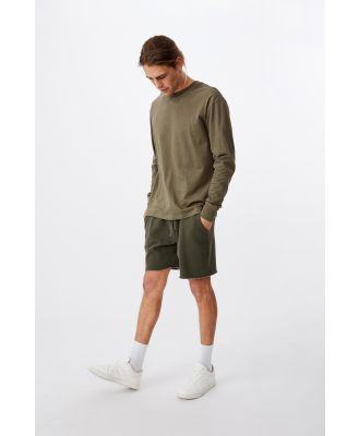 Cotton On Men - Tbar Long Sleeve T-Shirt - Military