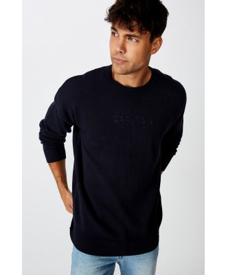 AFL - Afl Mens Knitted Jumper - Carlton
