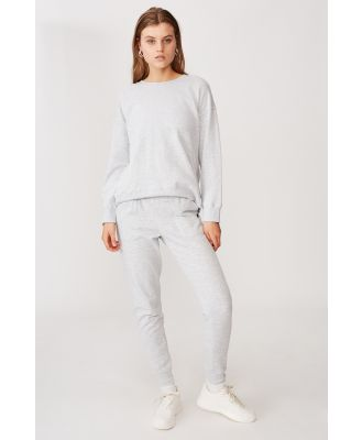 Body - Gym Track Pants - Cloudy grey marle