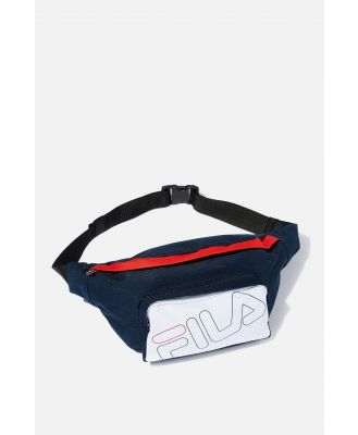 Factorie - Fila Lcn Navy Bumbag - Navy red
