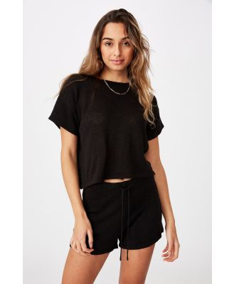 Supré - Brittany Tee Knit Co Ord - Black