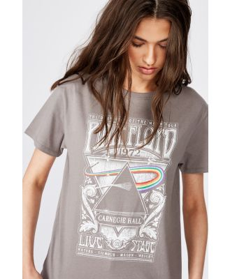 Supré - Pink Floyd Tee - Cement grey pink floyd tour