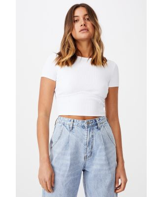 Supré - Tiffany Under Bust Top - White
